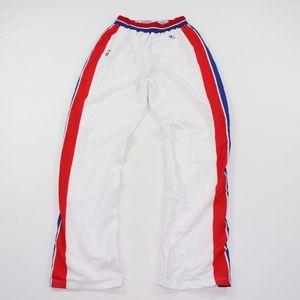 90s Champion Mens 38 Detroit Pistons Pants White